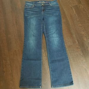 Inc. Denim curvy fit boot cut jeans